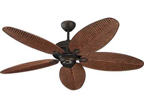 Monte Carlo Fans Cruise Roman Bronze 52'' Wide Outdoor Ceiling Fan MCF5CU52RB