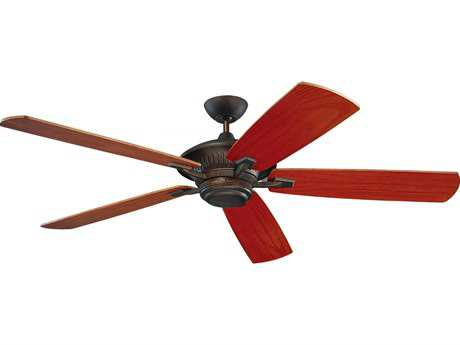 Monte Carlo Fans Cyclone Roman Bronze 60'' Wide Outdoor Ceiling Fan MCF5CY60RB
