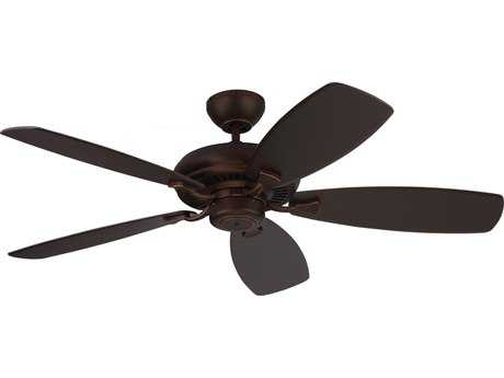 Monte Carlo Fans Designer Max Roman Bronze 52'' Wide Indoor Ceiling Fan MCF5DM52RB