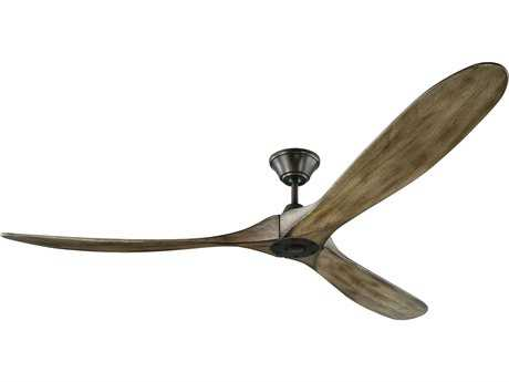 Monte Carlo Fans Maverick Aged Pewter 70'' Wide Indoor Ceiling Fan MCF3MAVR70AGP