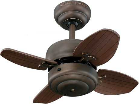 Monte Carlo Fans Mini 20 Roman Bronze 20'' Wide Indoor Ceiling Fan MCF4MC20RB