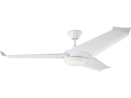 Monte Carlo Fans Orville Matte White Indoor Ceiling Fan