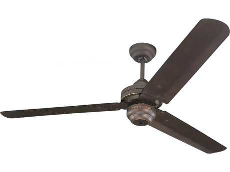 Monte Carlo Fans Studio Roman Bronze 54'' Wide Indoor Ceiling Fan MCF3SU54RB