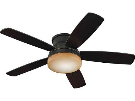 Monte Carlo Fans Traverse Roman Bronze 52'' Wide Indoor Ceiling Fan with Light MCF5TV52RBD
