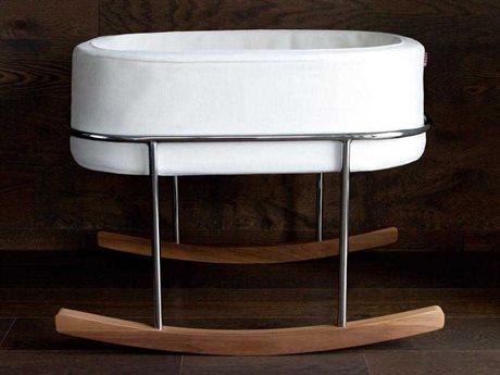 Monte Design Rockwell White Crib Bed MONROCKWELLWHITE