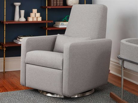 Monte Design Grano Pebble Grey Recliner - Quick Ship MONGRANORECLINERQS