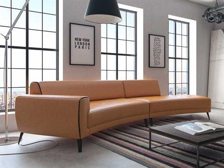 Orange Sectional Sofas | LuxeDecor