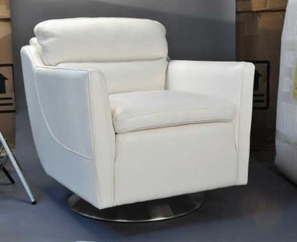 Moroni Clio Contemporary Off White Club Chair MOR52806D2007
