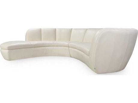 Moroni Crescenta Contemporary Cream Two-Piece Sectional Sofa MOR546SCB1181