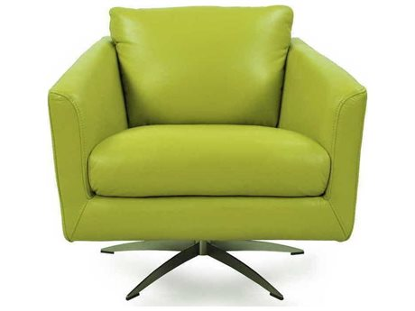 Moroni Jayden Contemporary Apple Green Swivel Club Chair MOR53006B1345
