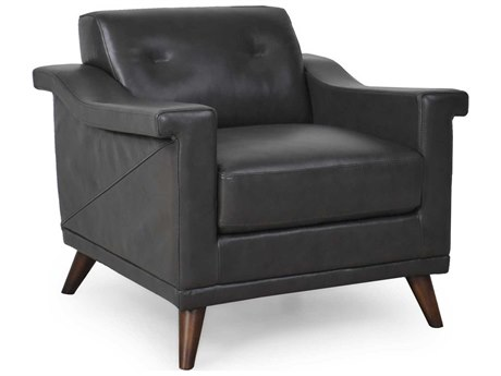 Moroni Kak Mid-Century Charcoal Grey Club Chair MOR35601ANS1330
