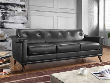 Moroni Kak Mid-Century Charcoal Grey Sofa