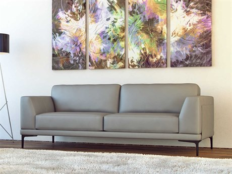 Moroni Kerman Contemporary Light Grey Sofa MOR57803B1192