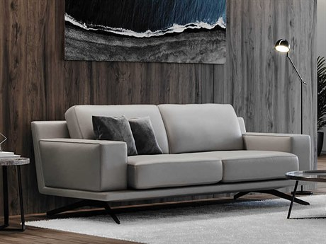 Moroni Mercier Light Grey Sofa Couch