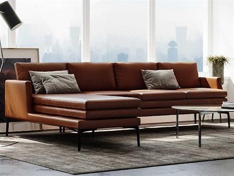 Moroni Rica Tan Sectional Sofa
