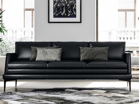 Moroni Rica Black Sofa Couch