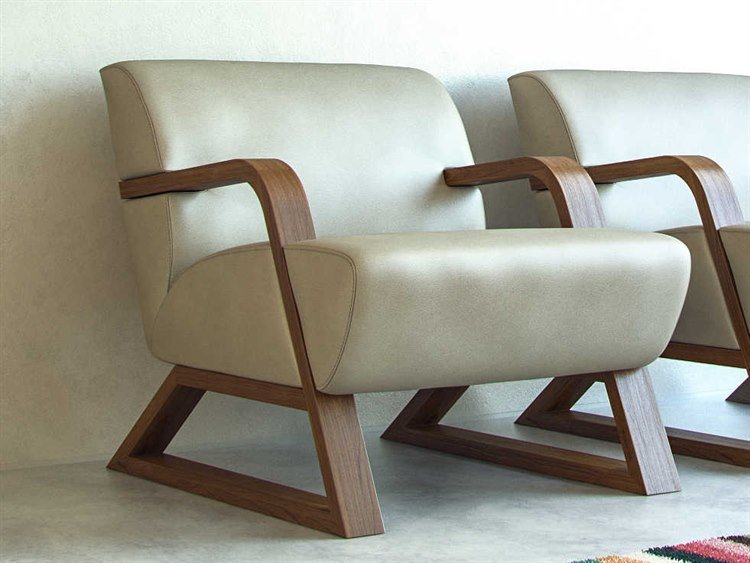 Taupe Accent Chairs.Moroni Sleigh Contemporary Light Taupe Accent Chair