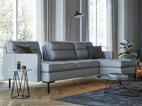 Moroni Viggo Light Grey Sectional Sofa