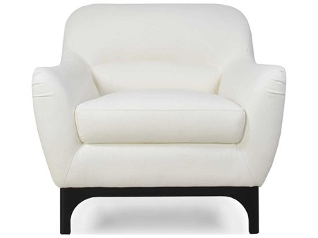 Moroni Wollo Mid-Century Pure White Club Chair MOR35701DOS1188