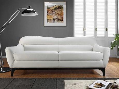 Moroni Wollo Mid-Century Pure White Sofa MOR35703DOS1188