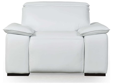 Moroni Yorbita Pure White Recliner Chair