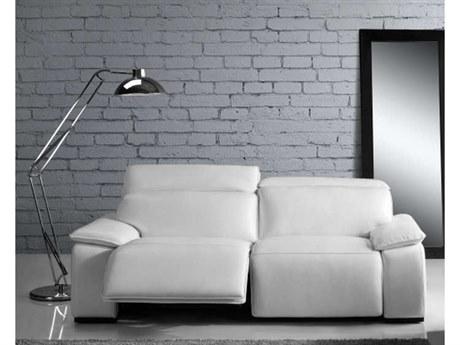 Moroni Yorbita Pure White Sofa Couch