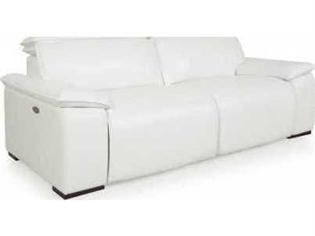 Moroni Yorbita Pure White Motorized Sofa
