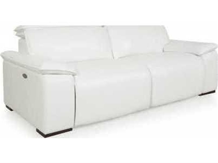 Phenomenal Moroni Yorbita Pure White Motorized Sofa Gmtry Best Dining Table And Chair Ideas Images Gmtryco