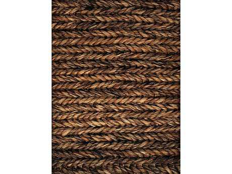 Natural Carpet Company Minette Abaca Rectangular Brown Area Rug NTMINETTE