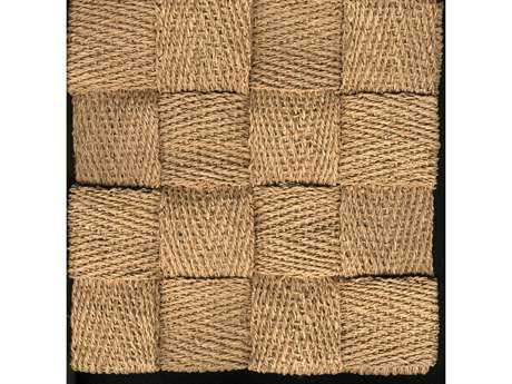 Natural Carpet Company Squire Raffia Rectangular Beige Area Rug NTSQUIRERAFFIA