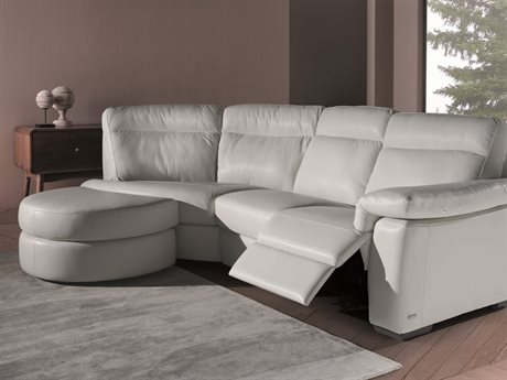 Natuzzi Editions Brivido Right Arm Facing Electric Motion Sectional Sofa