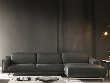 Natuzzi Editions Entusiasmo Sectional Sofa NTZC019216049