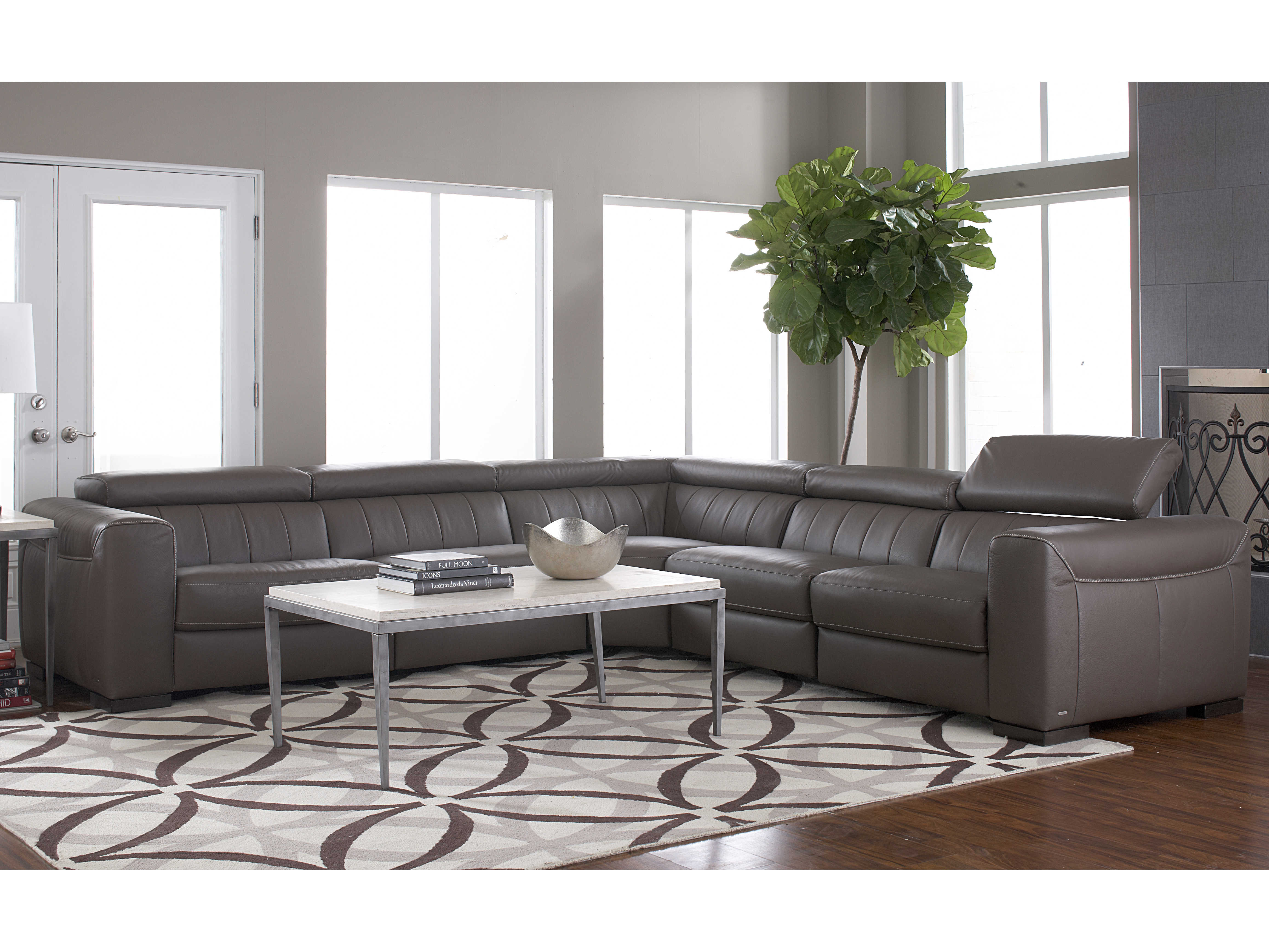 Natuzzi Editions Forza Sectional Sofa