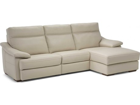 Natuzzi Editions Pazienza Sectional Sofa with Right Arm Facing Chaise