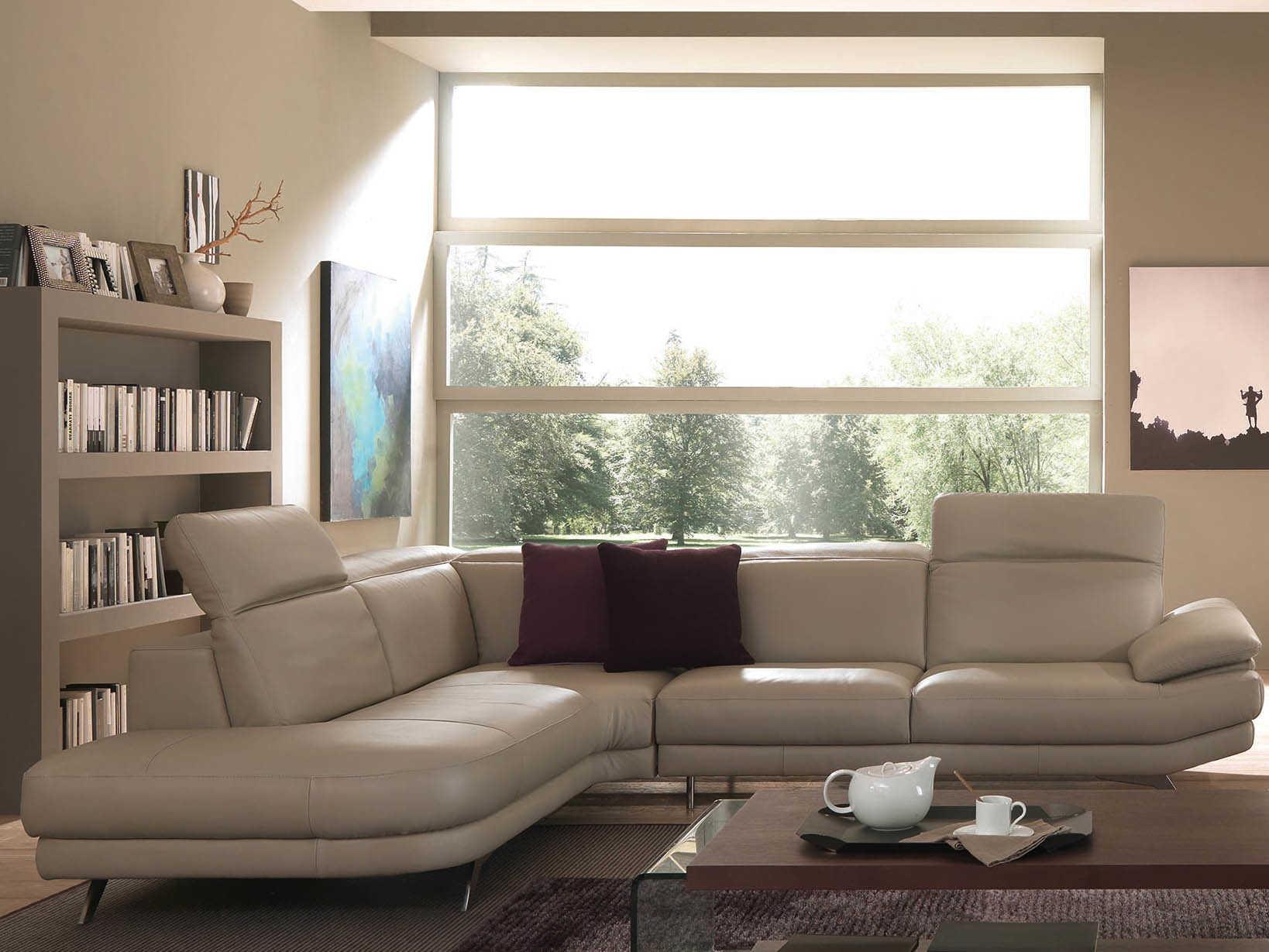 Natuzzi Editions Principe Sectional Sofa Modern