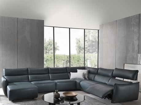 Natuzzi Editions Stupore Sectional Sofa with Left Arm Chaise NTZC027047291291011291452