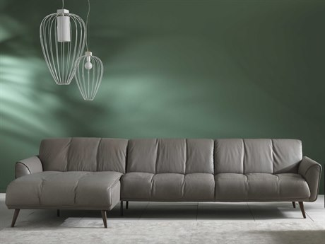 Natuzzi Editions Talento Sectional Sofa with Left Arm Facing Chase