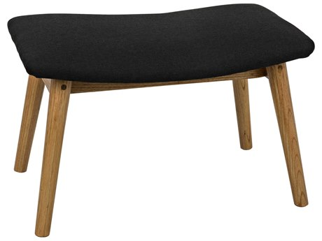 Noir Furniture Natural Accent Stool