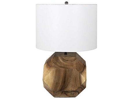 Noir Furniture Loraine Teak Table Lamp NOIAI75SH