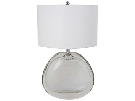 Noir Furniture Horizontal Ghost Glass Table Lamp NOILAMP638SH