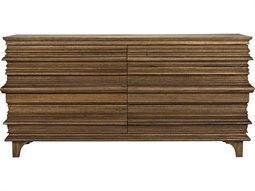 Bernard Dark Walnut Six-Drawer Double Dresser
