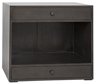 Noir Furniture Sumiko Pale 30'' x 18'' Nightstand NOIGTAB787P