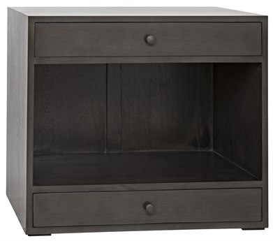 Noir Furniture Sumiko Pale 30'' x 18'' Nightstand