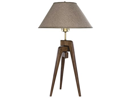 Noir Furniture Dark Walnut Buffet Lamp NOILAMP705SH