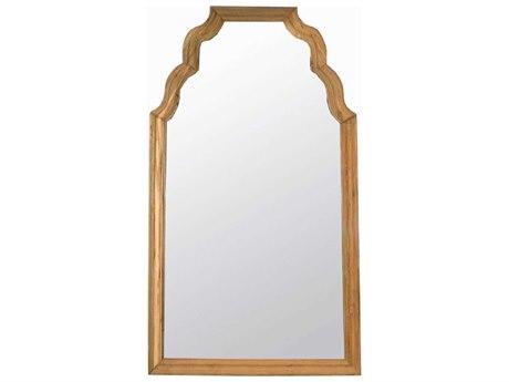 Noir Furniture Teak 53'' x 94'' Floor Mirror