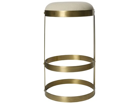Noir Furniture Dior Antique Brass Bar Stool