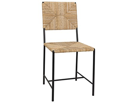 Noir Furniture Woven Chair Rush Seagrass Dining Side Chair