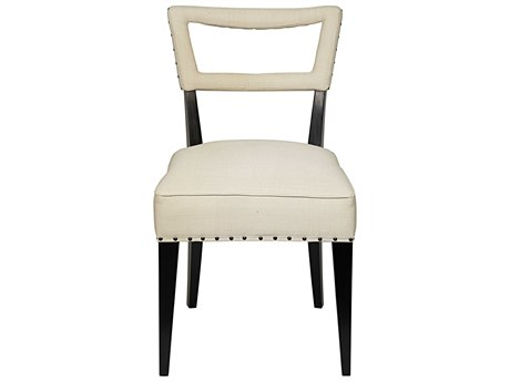 Noir Furniture Argento Off White Dining Side Chair
