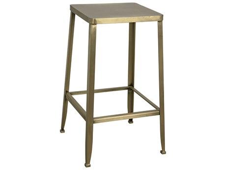 Noir Furniture Mauro Antique Brass Counter Stool NOIGSTOOL150MBS