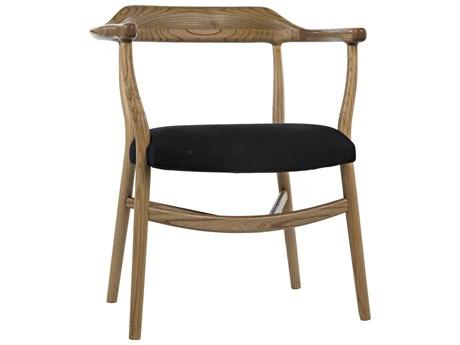 Noir Furniture Natural Arm Dining Chair